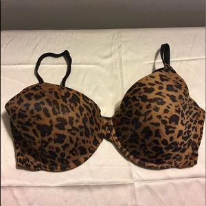 Sexy Leopard Underwire Bra 36D